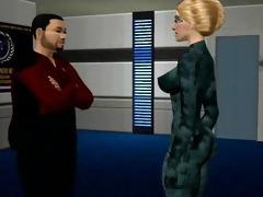 simtrek part#10 sims 7 sci-fi